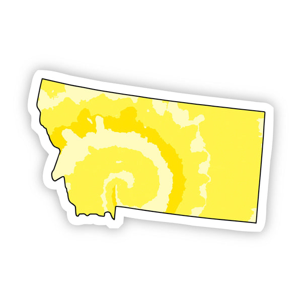 Montana Yellow Sticker