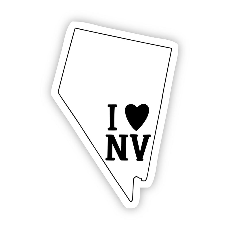 I Love Nevada Sticker