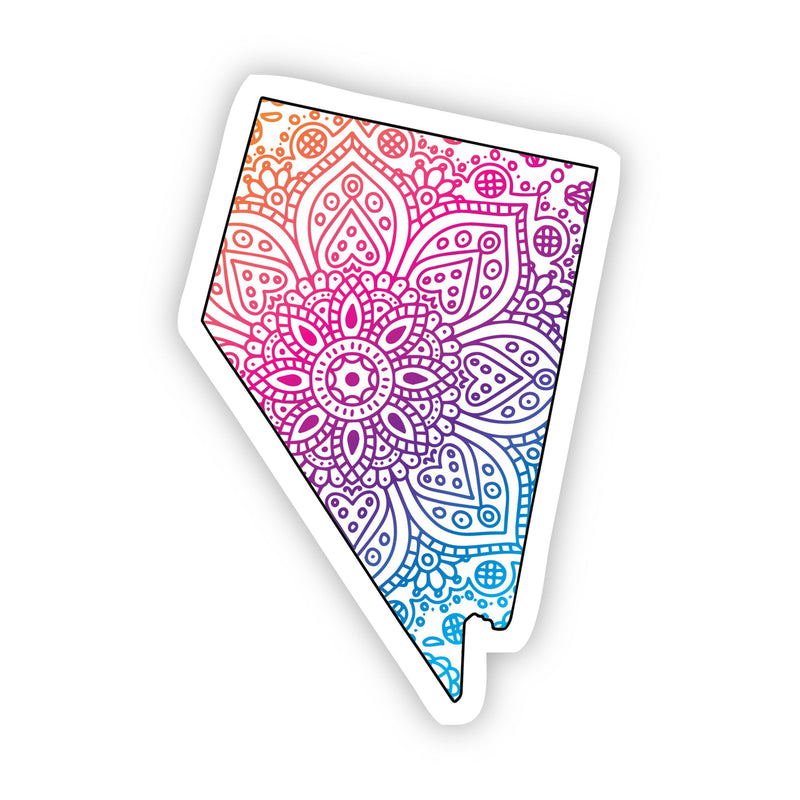 Nevada Mandala Pattern Sticker