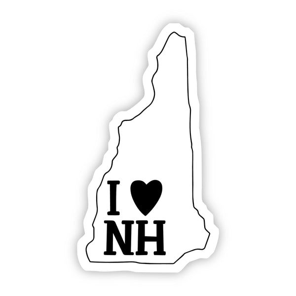 I Love New Hampshire Sticker