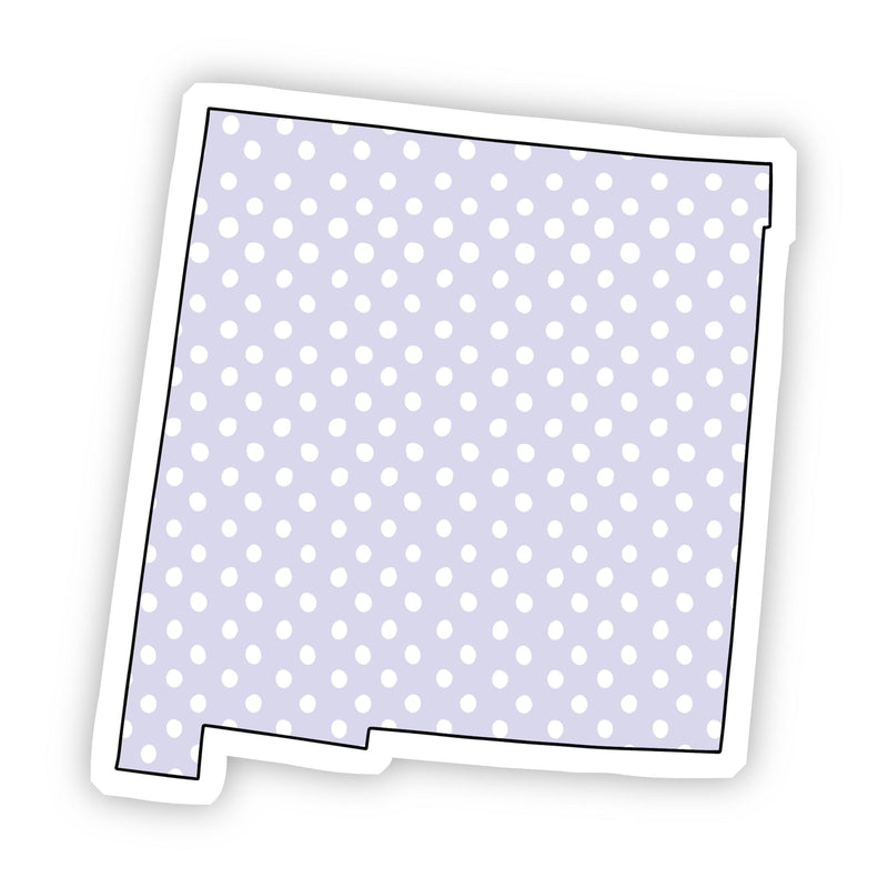 New Mexico Polka Dot Sticker
