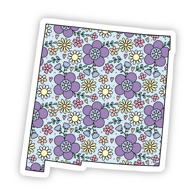 New Mexico Floral Sticker
