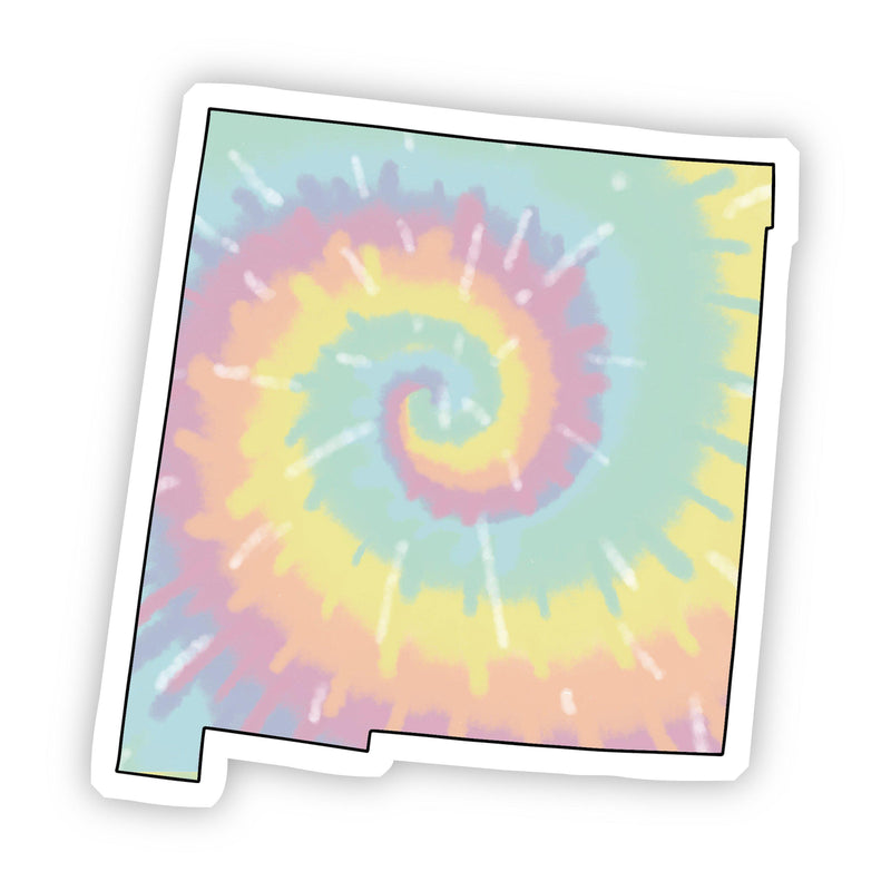 New Mexico Tie Dye Sticker