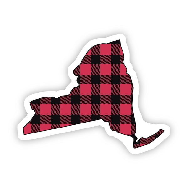 New York Flannel Sticker