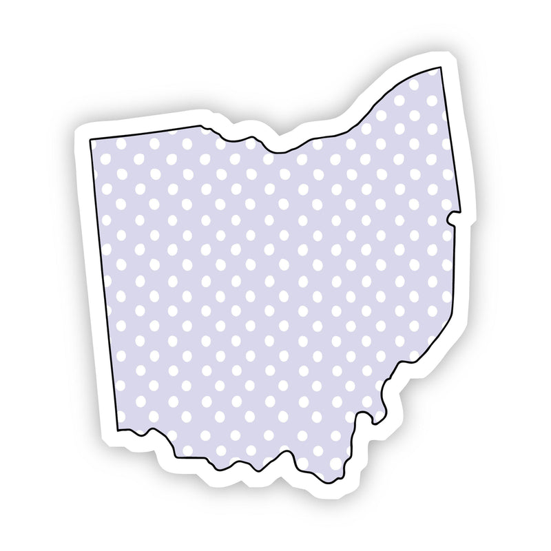 Ohio Polka Dot Sticker