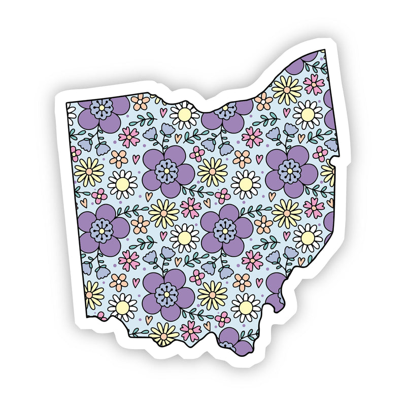 Ohio Floral Sticker