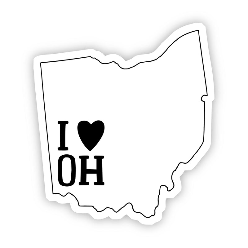 I Love Ohio Sticker