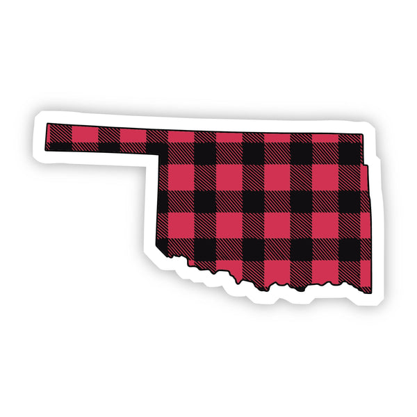 Oklahoma Flannel Sticker