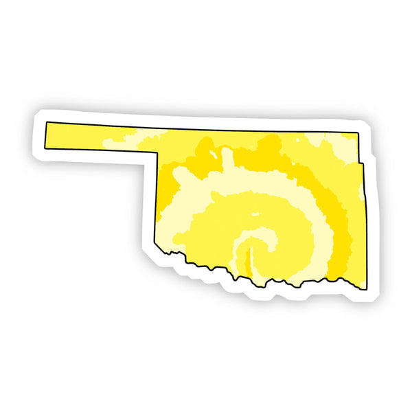 Oklahoma Yellow Sticker