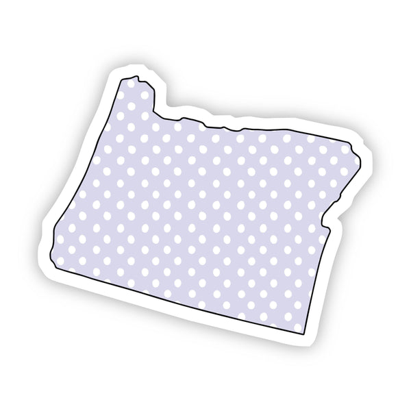 Oregon Polka Dot Sticker