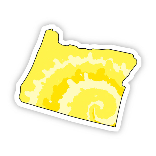 Oregon Yellow Sticker
