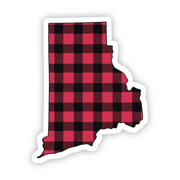 Rhode Island Flannel Sticker