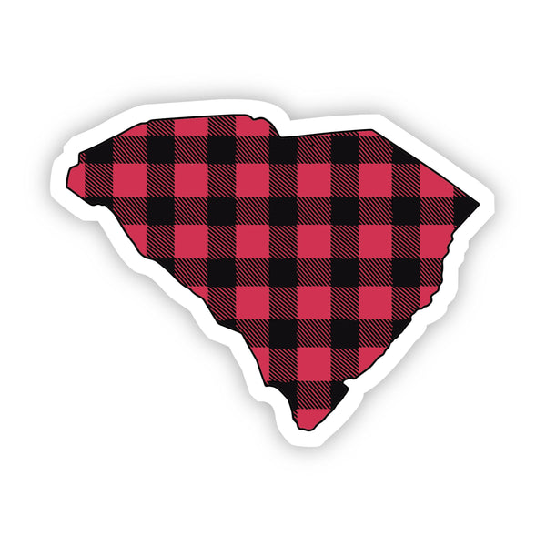 South Carolina Flannel Sticker