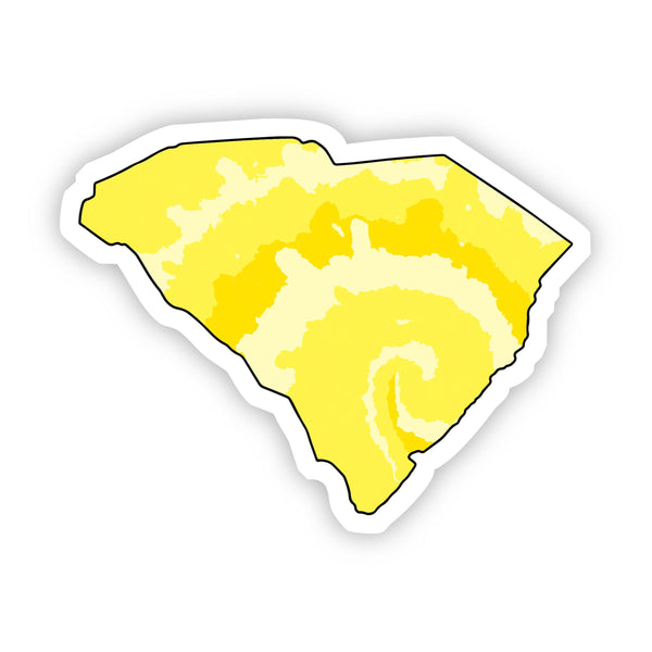 South Carolina Yellow Sticker