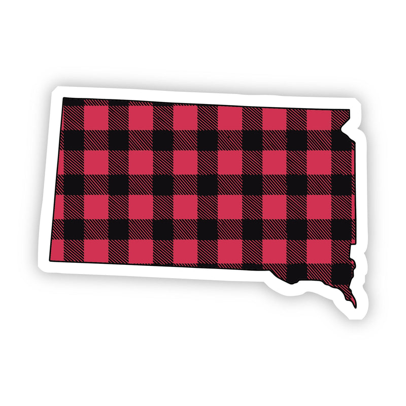 South Dakota Flannel Sticker