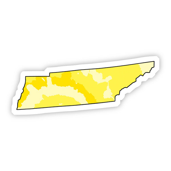 Tennessee Yellow Sticker