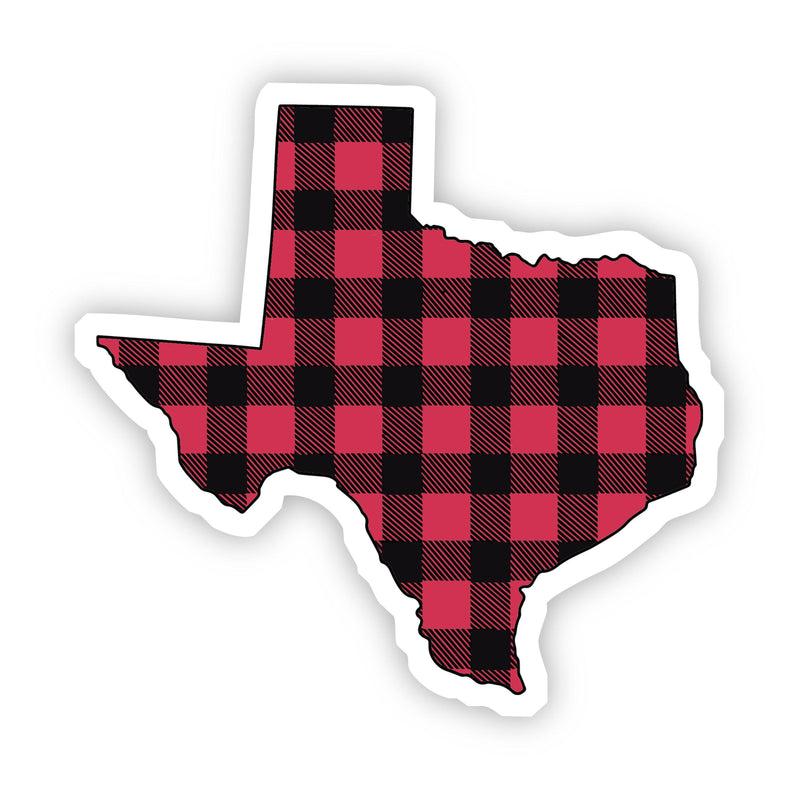 Texas Flannel Sticker