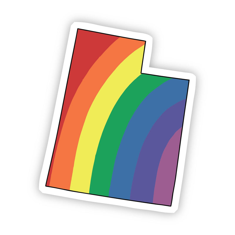 Utah Rainbow Sticker