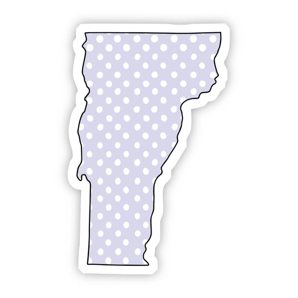 Vermont Polka Dot Sticker