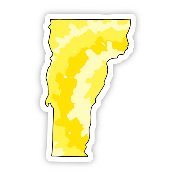 Vermont Yellow Sticker