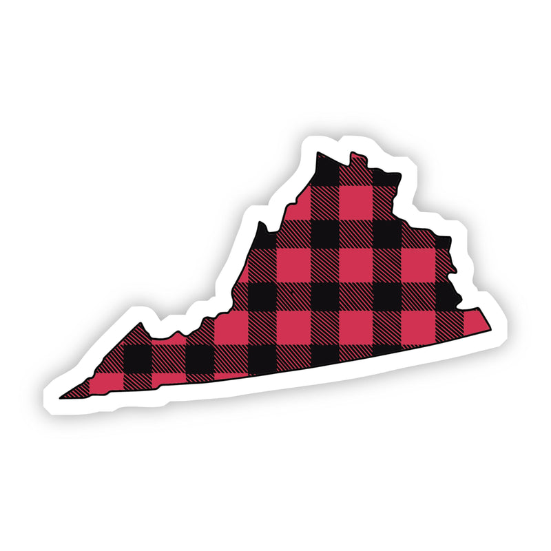 Virginia Flannel Sticker