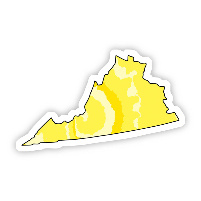 Virginia Yellow Sticker