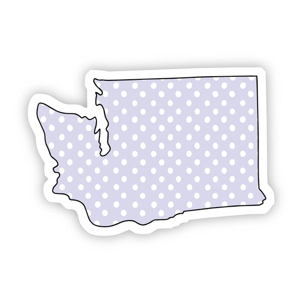 Washington Polka Dot Sticker