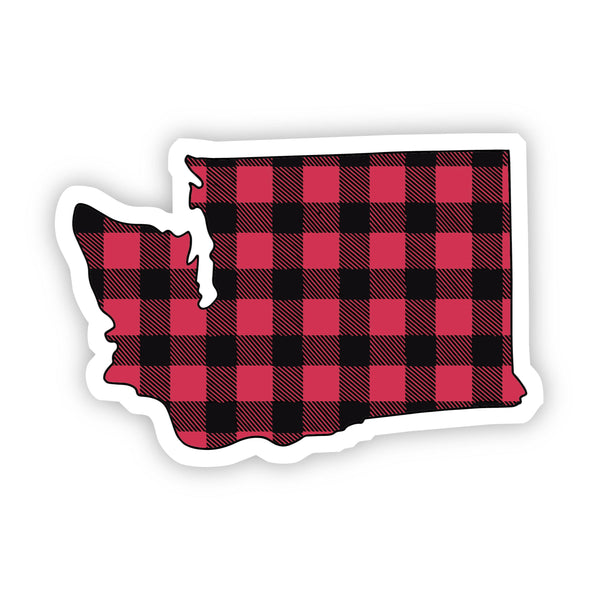 Washington Flannel Sticker