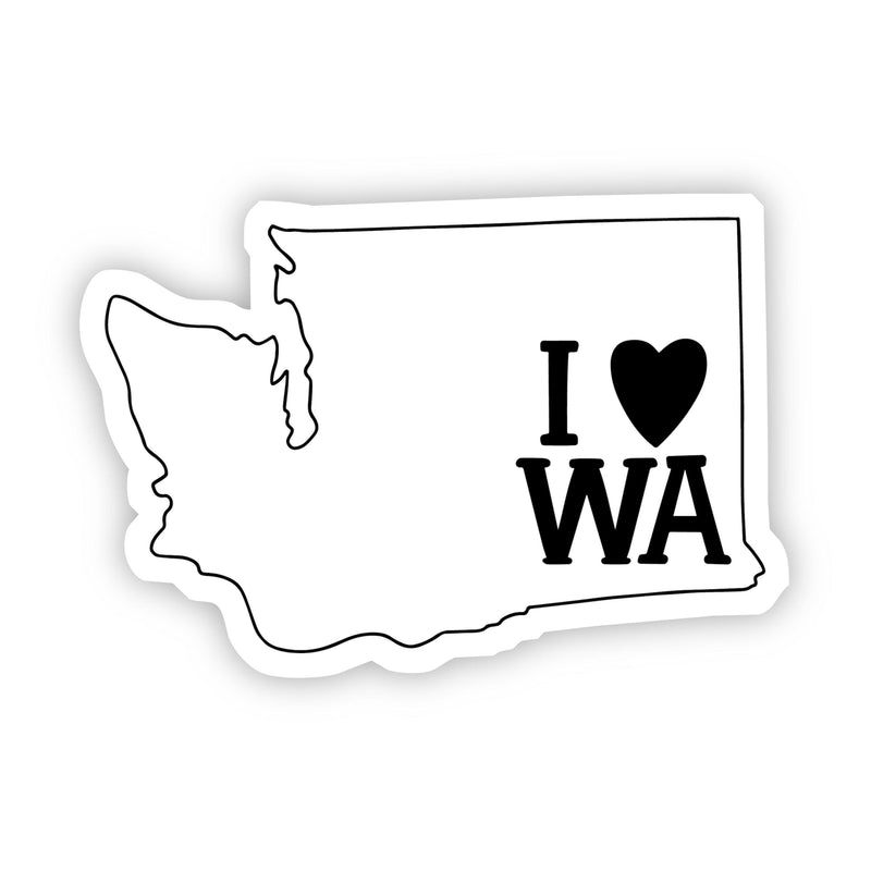 I Love Washington Sticker