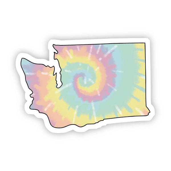 Washington Tie Dye Sticker
