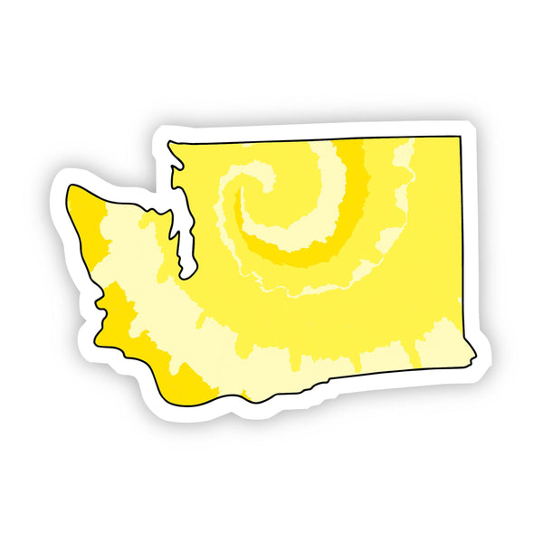 Washington Yellow Sticker
