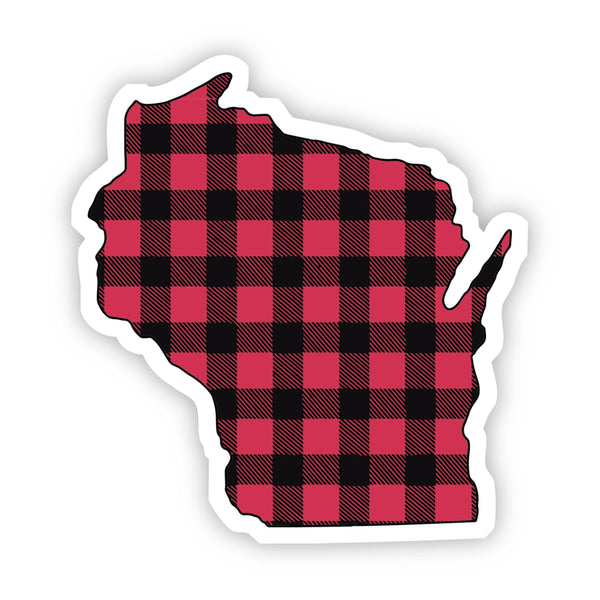 Wisconsin Flannel Sticker