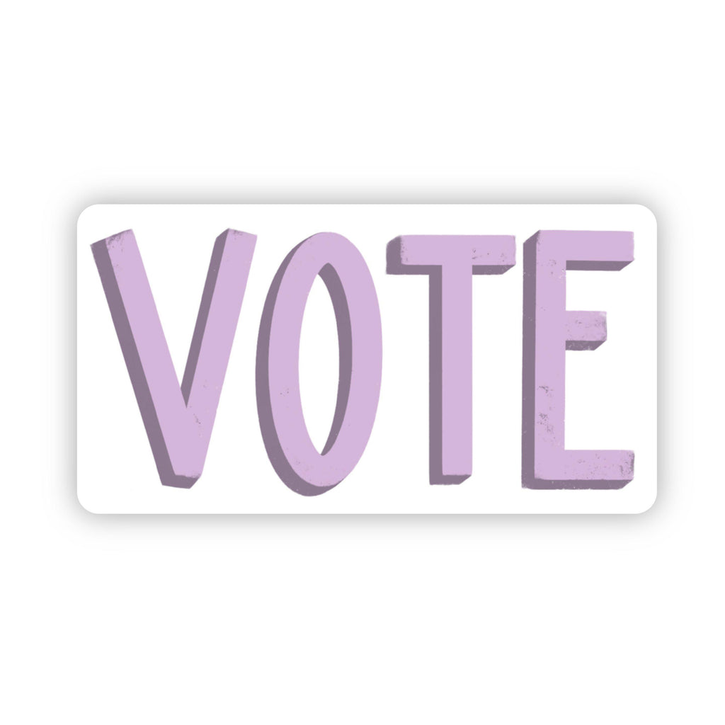 Vote Purple Sticker