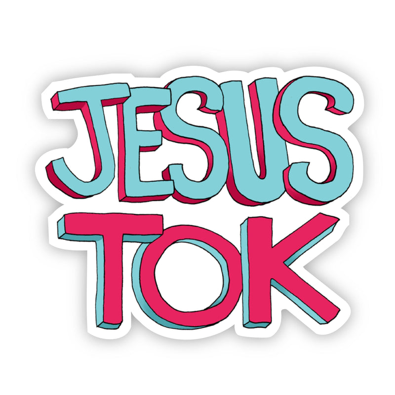 Jesus Tok Sticker