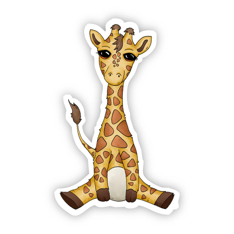 Baby Giraffe Sticker
