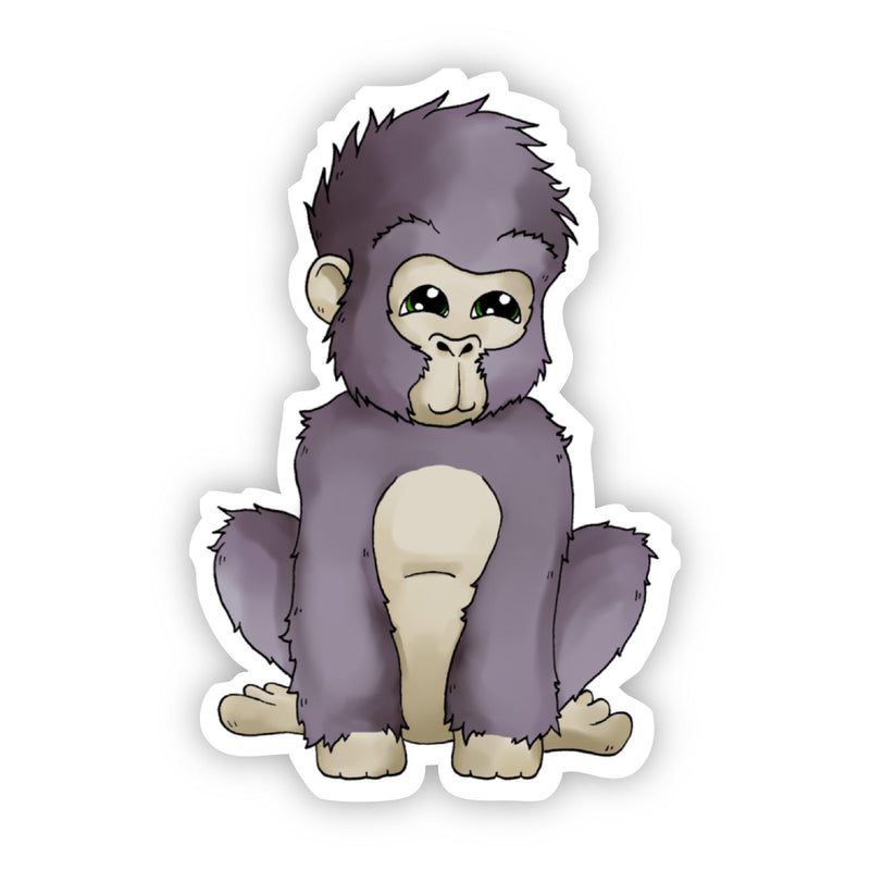 Baby Gorilla Sticker