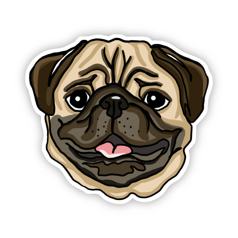 Pug Dog Sticker