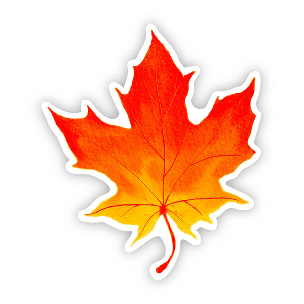 Fall Leaf Sticker