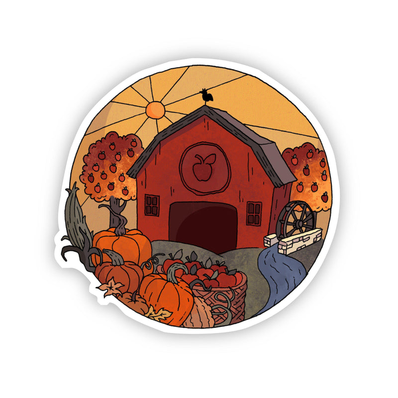 Cider Mill Fall Sticker