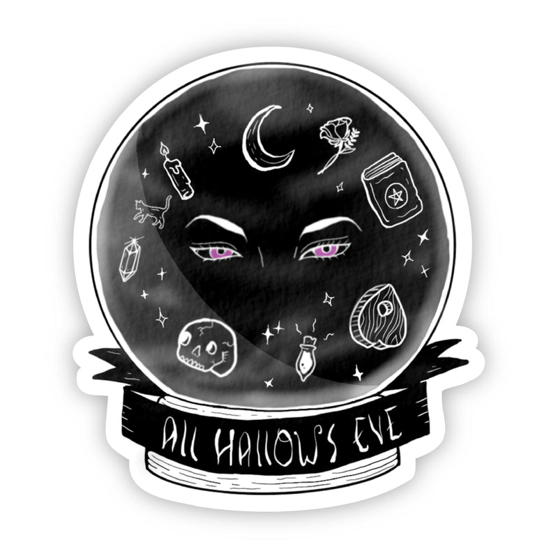 All Hallows Eve Halloween Sticker