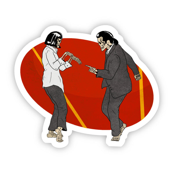 Pulp Fiction Halloween Sticker