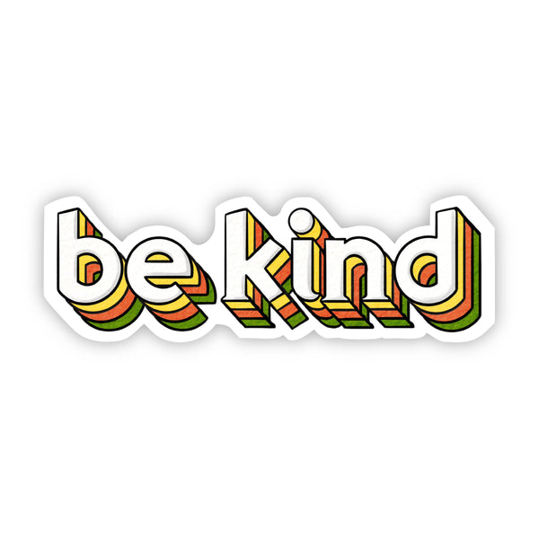 Be Kind Lettering Sticker