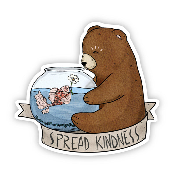 Spread Kindness Cute Sticker