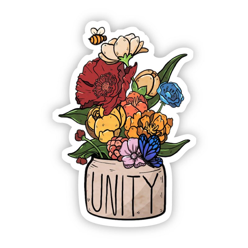 Unity Floral Sticker