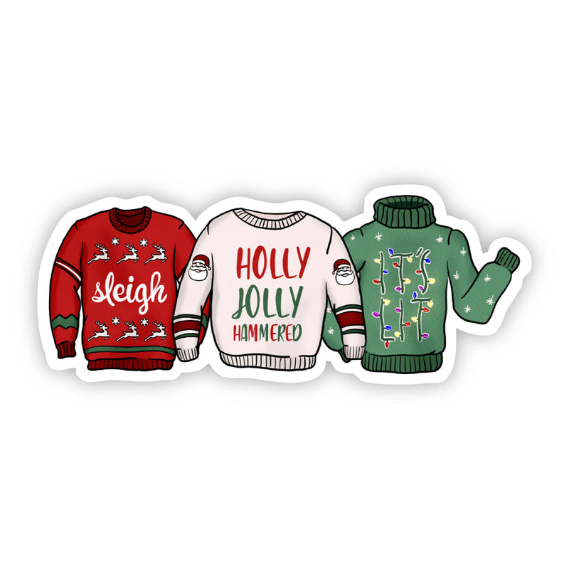 Holiday Sweater Variety Sticker