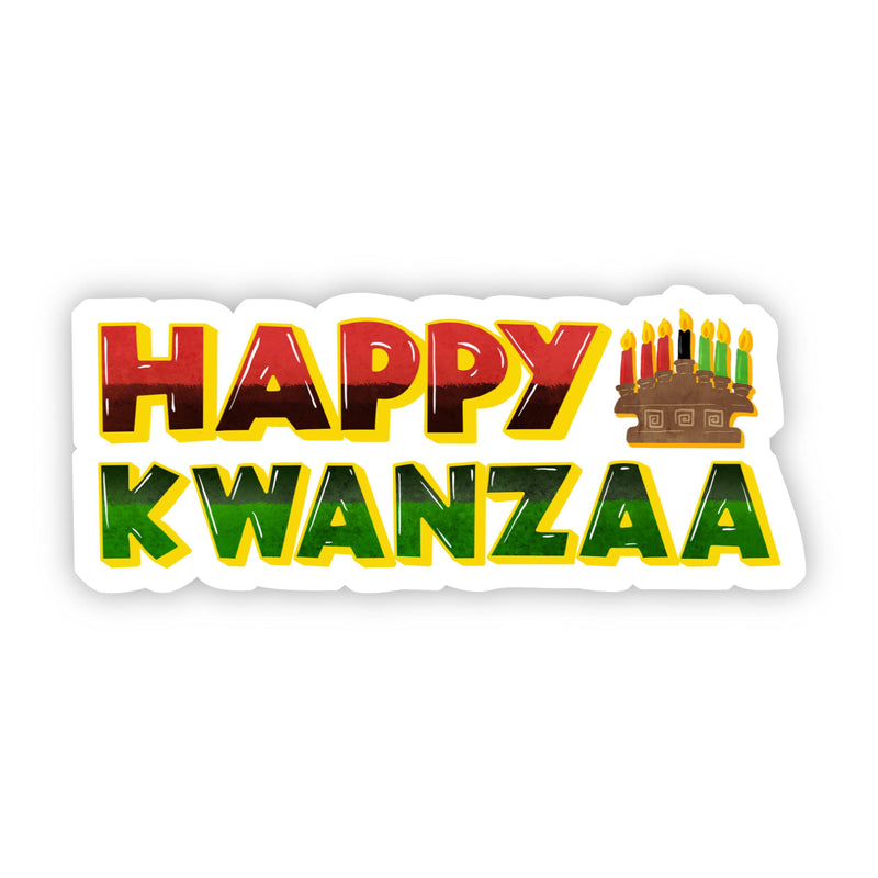 Happy Kwanzaa Sticker