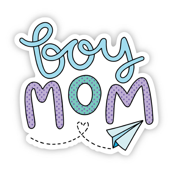 Boy Mom Sticker