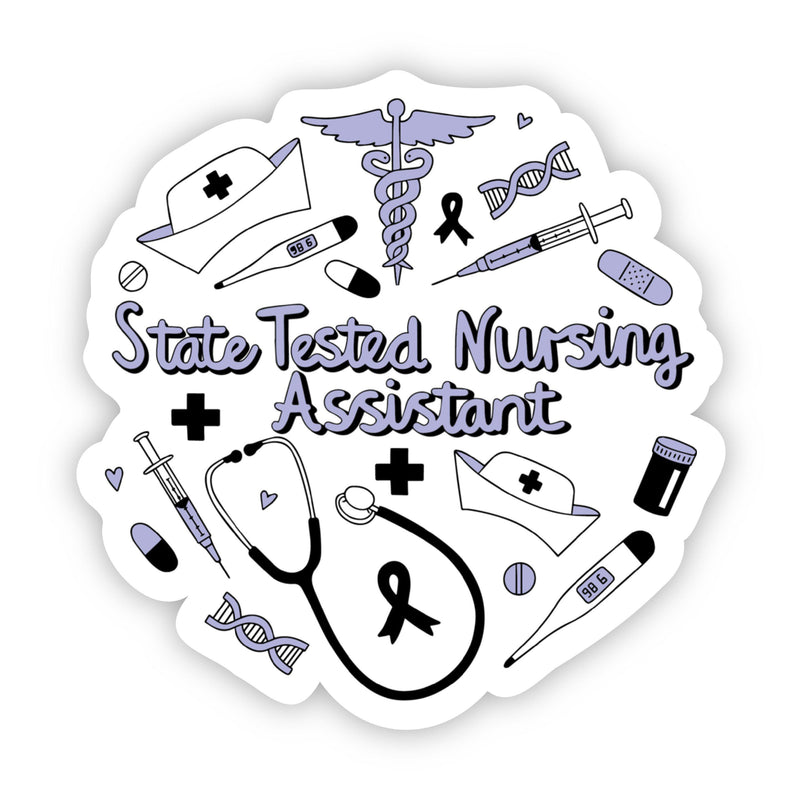 State Tested Nursing Assistant Sticker