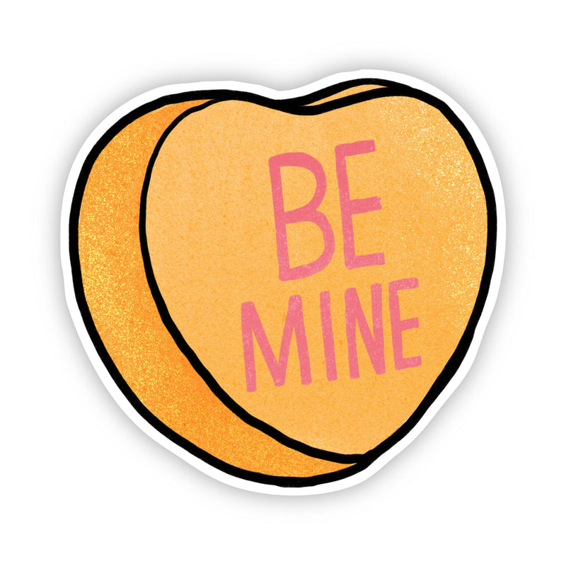 Be Mine Heart Sticker