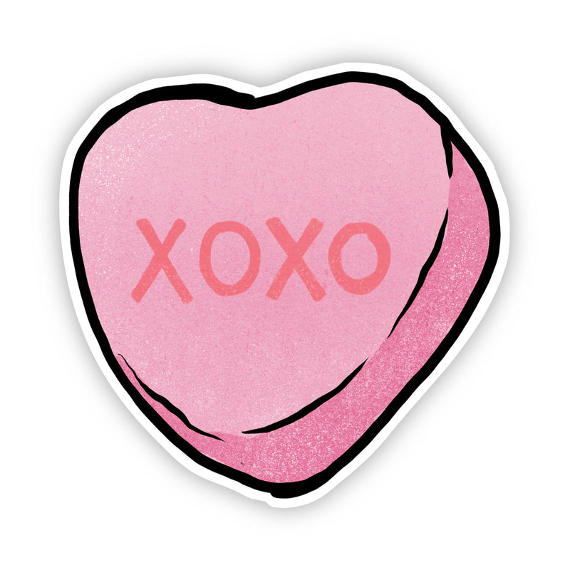XOXO Heart Sticker